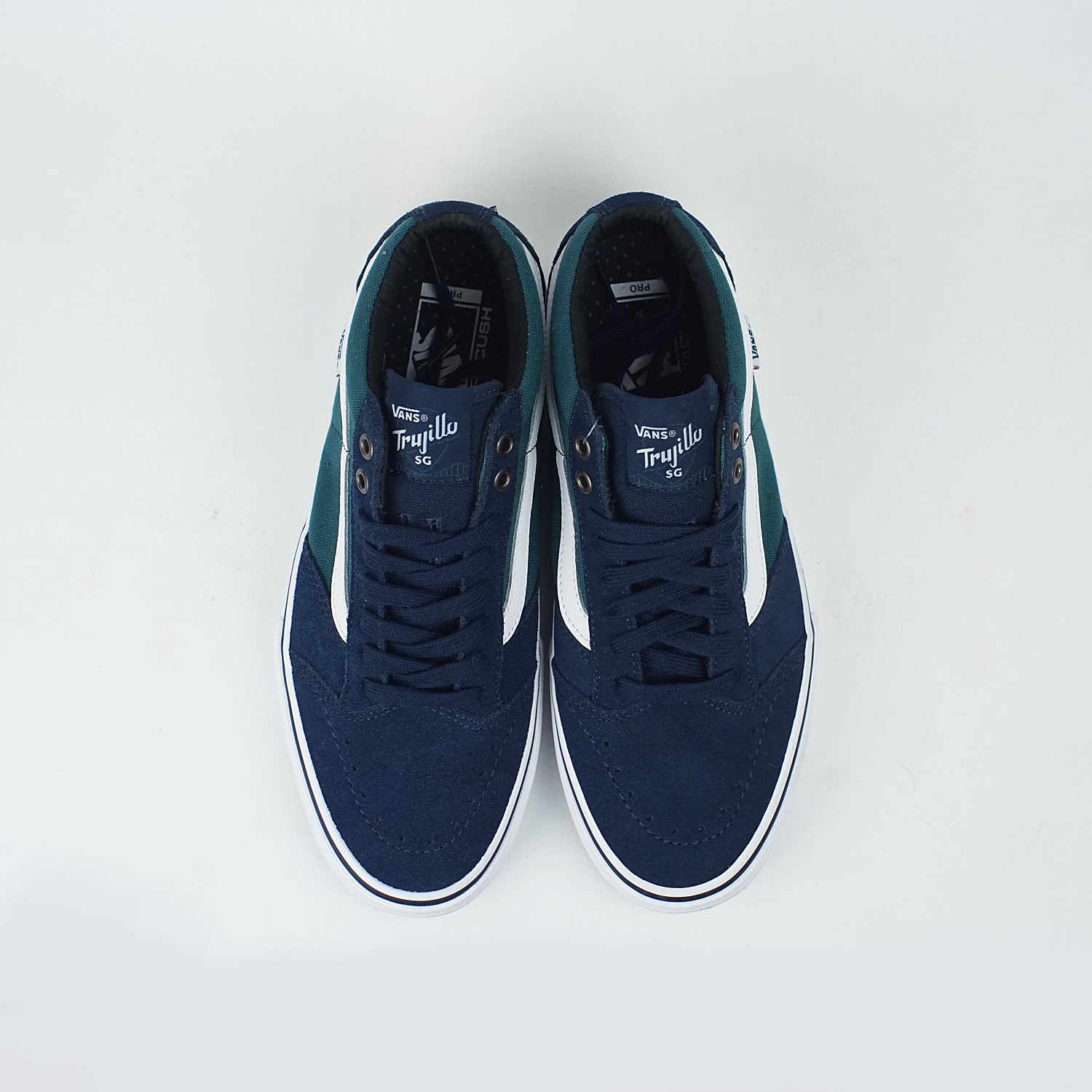 9b316ba4bf Vans Slip On Pro Rubber Dress Blue.Vans TNT SG Dress BLUES DEEP TEAL ...