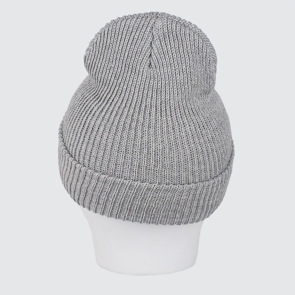 Alltimers League Player Beanie Grey Back