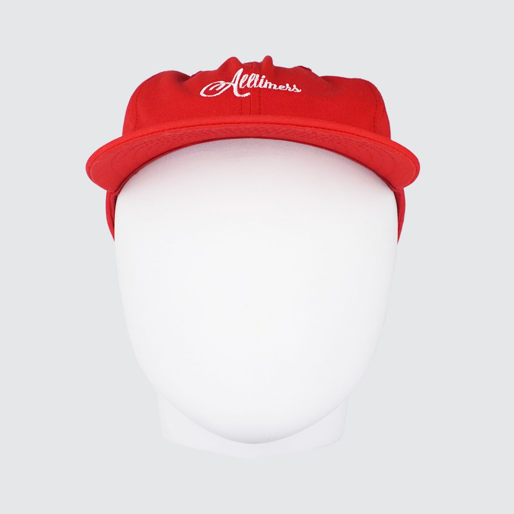 Alltimers-League-Player-Classic-Cap-Red