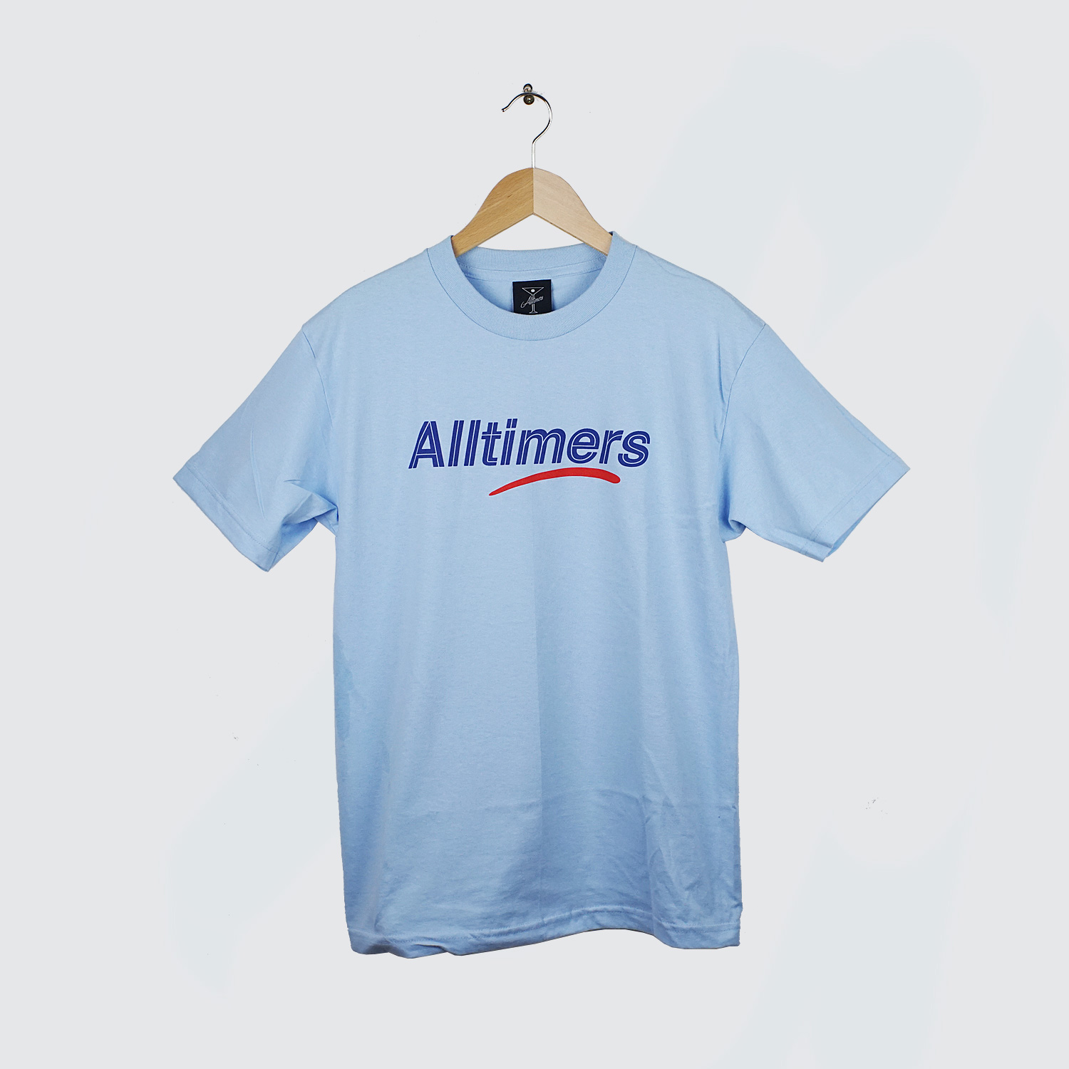 Alltimers sears tee blue lobby for Sears dress shirts sale
