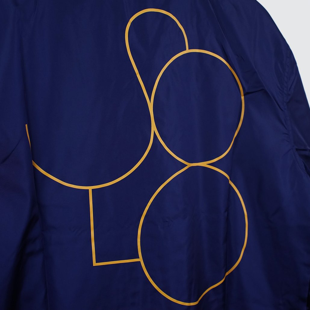 Solo Skateboard Magazine Coach Jacket Navy Detail2