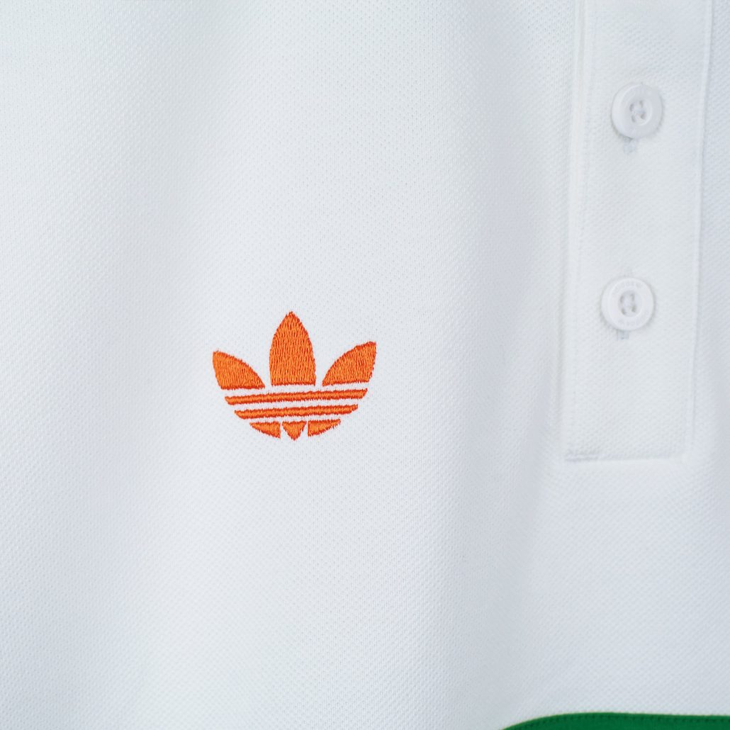 Adidas Helas Polo Shirt White Detail2