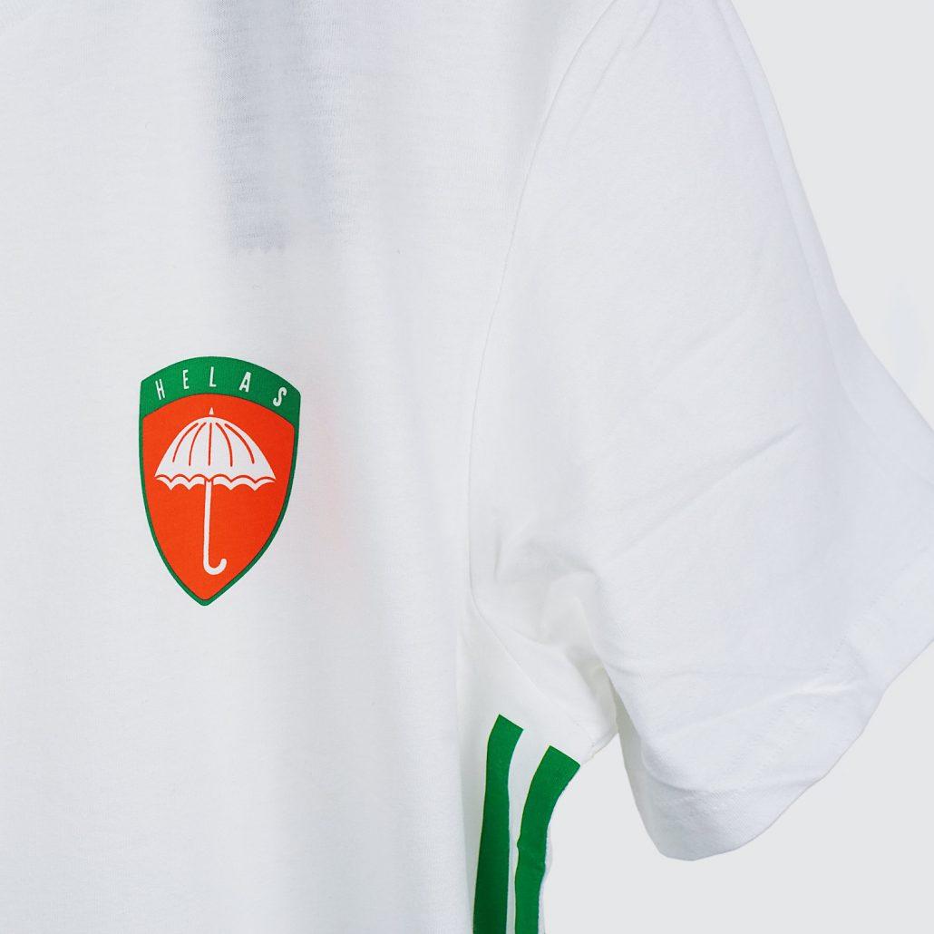 Adidas Helas T-Shirt White Detail