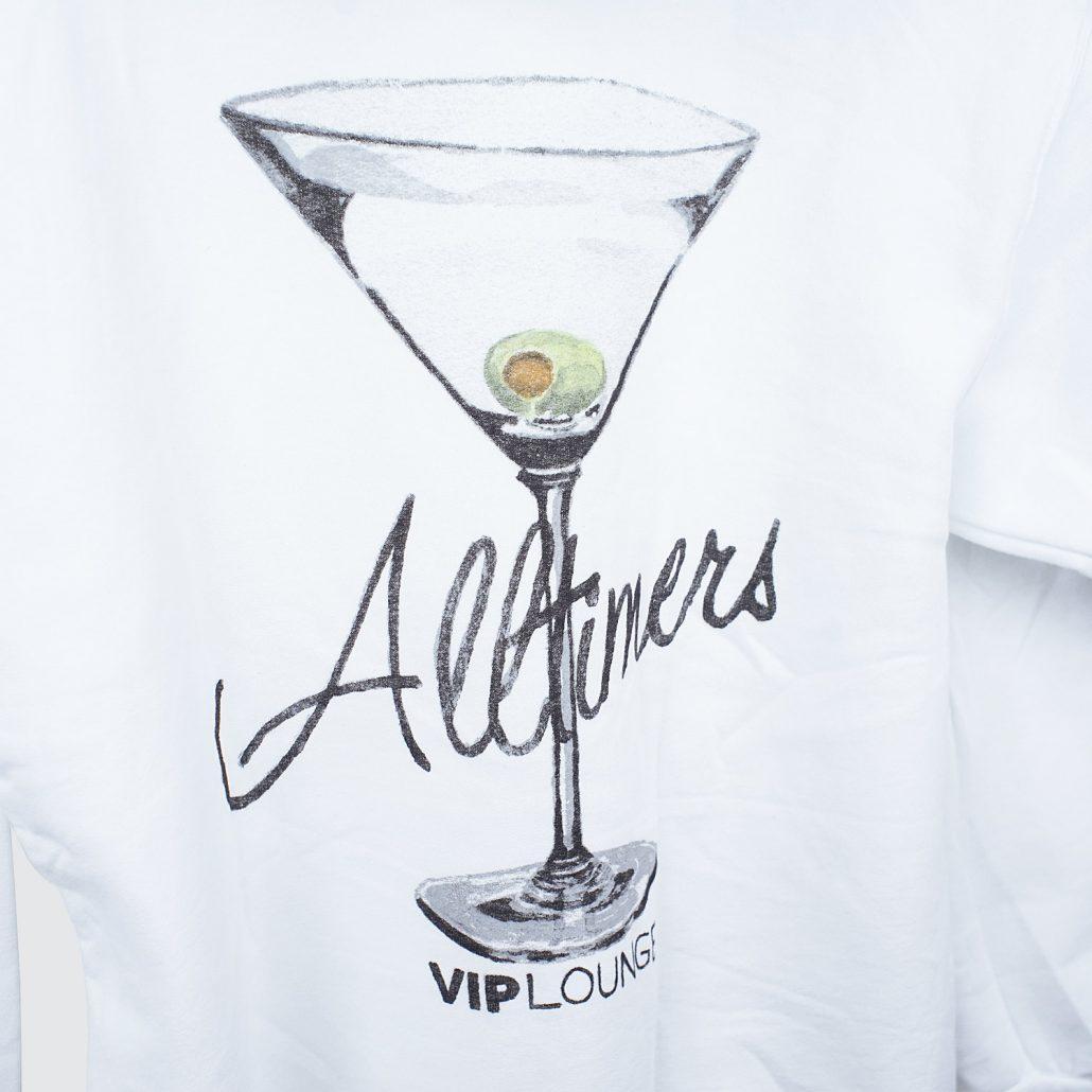 Alltimers Watercolor Logo Hoody White Detail2