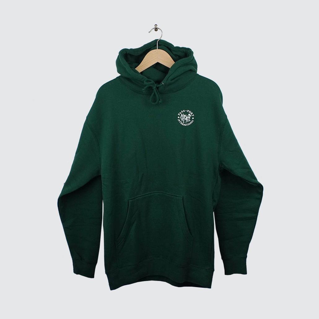 Passport-International-Ladies-Hoody-Forest-Green
