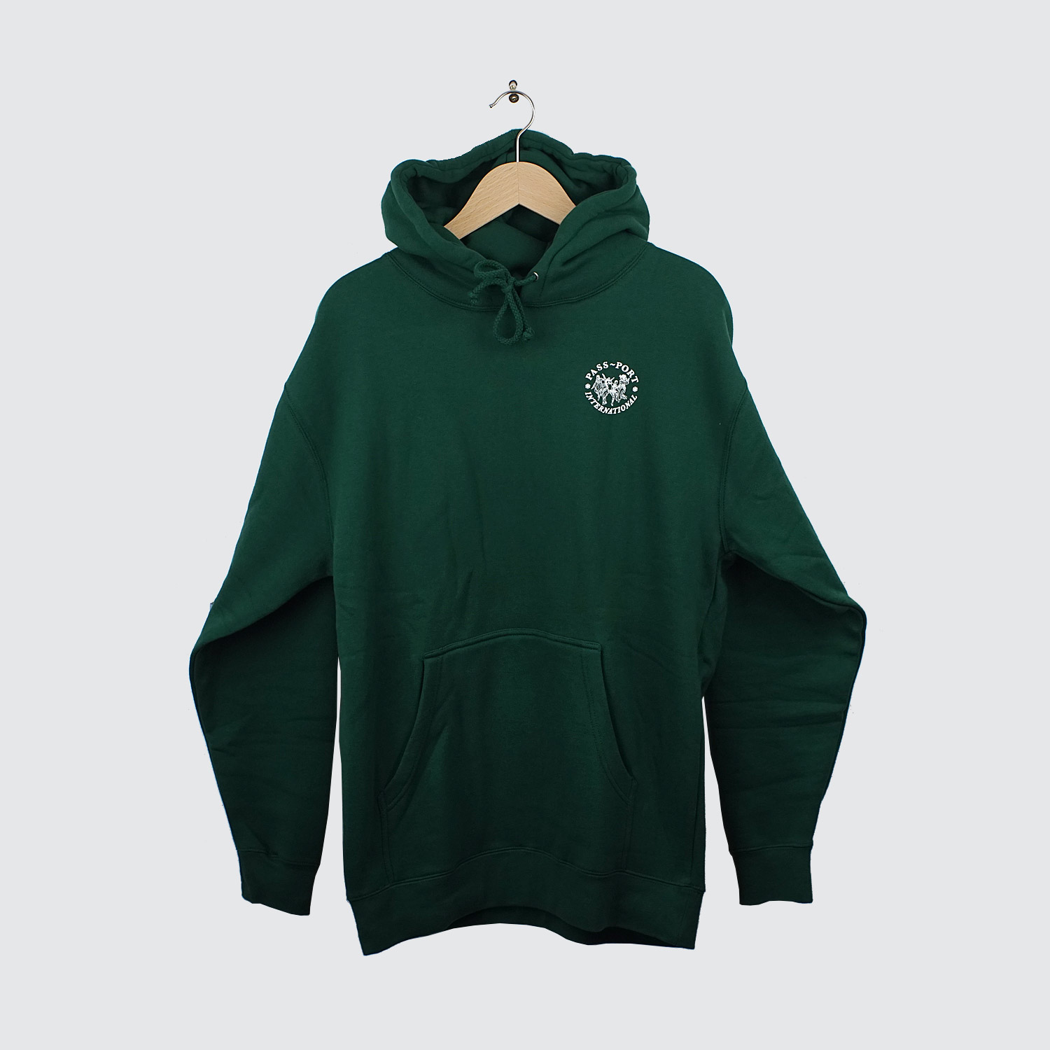 Forest green hoodie