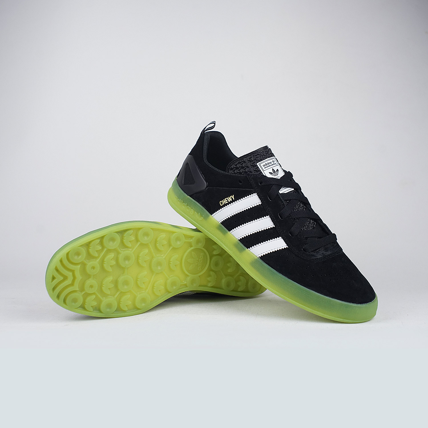 new arrival 8e5d1 74b71 Adidas-Palace-Pro-Chewy-Black-Green ...