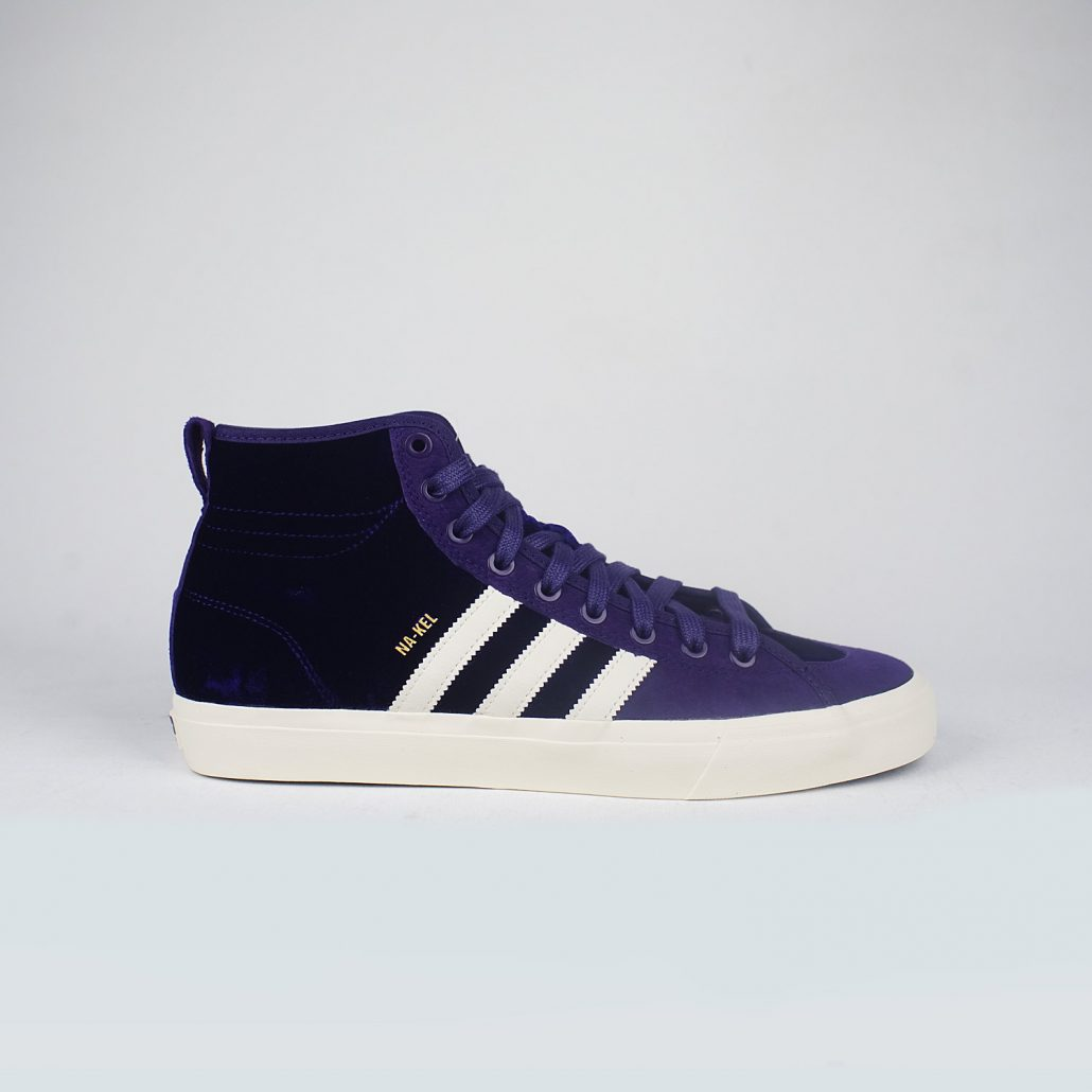 Purple Adidas Shoes High Tops