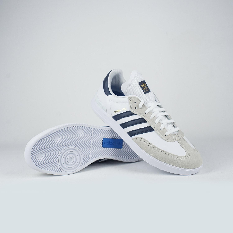 ... low cost adidas samba adv white navy gold aaea4 2b2db 11434a6f6
