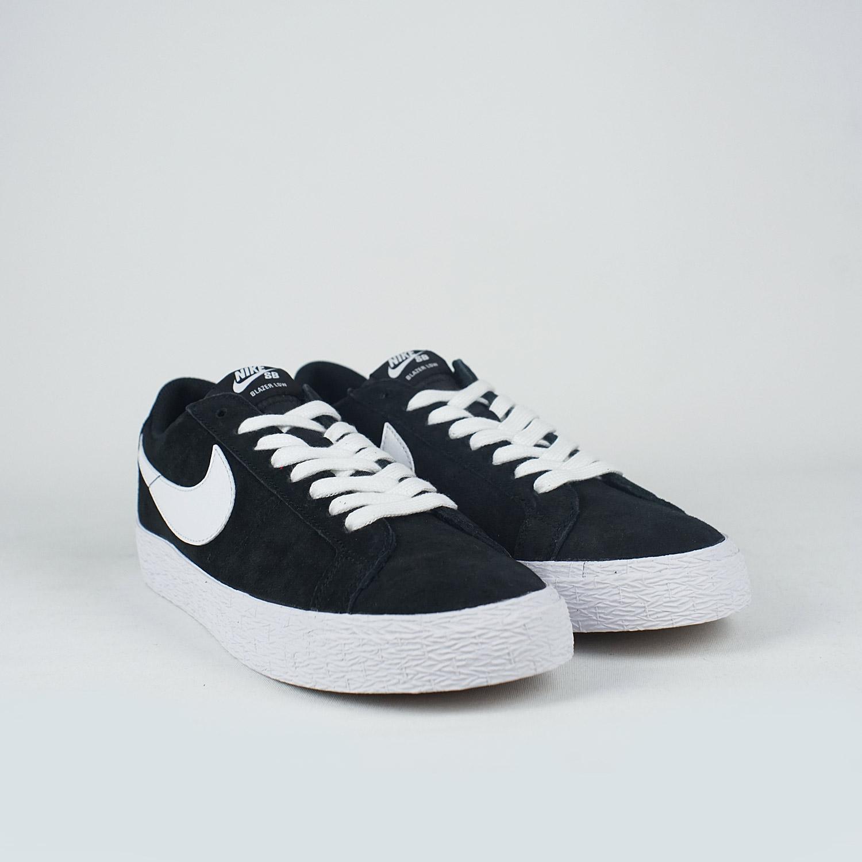 sale retailer fc47a da743 Nike SB Zoom Blazer Low Black/White-Gum Light Brown