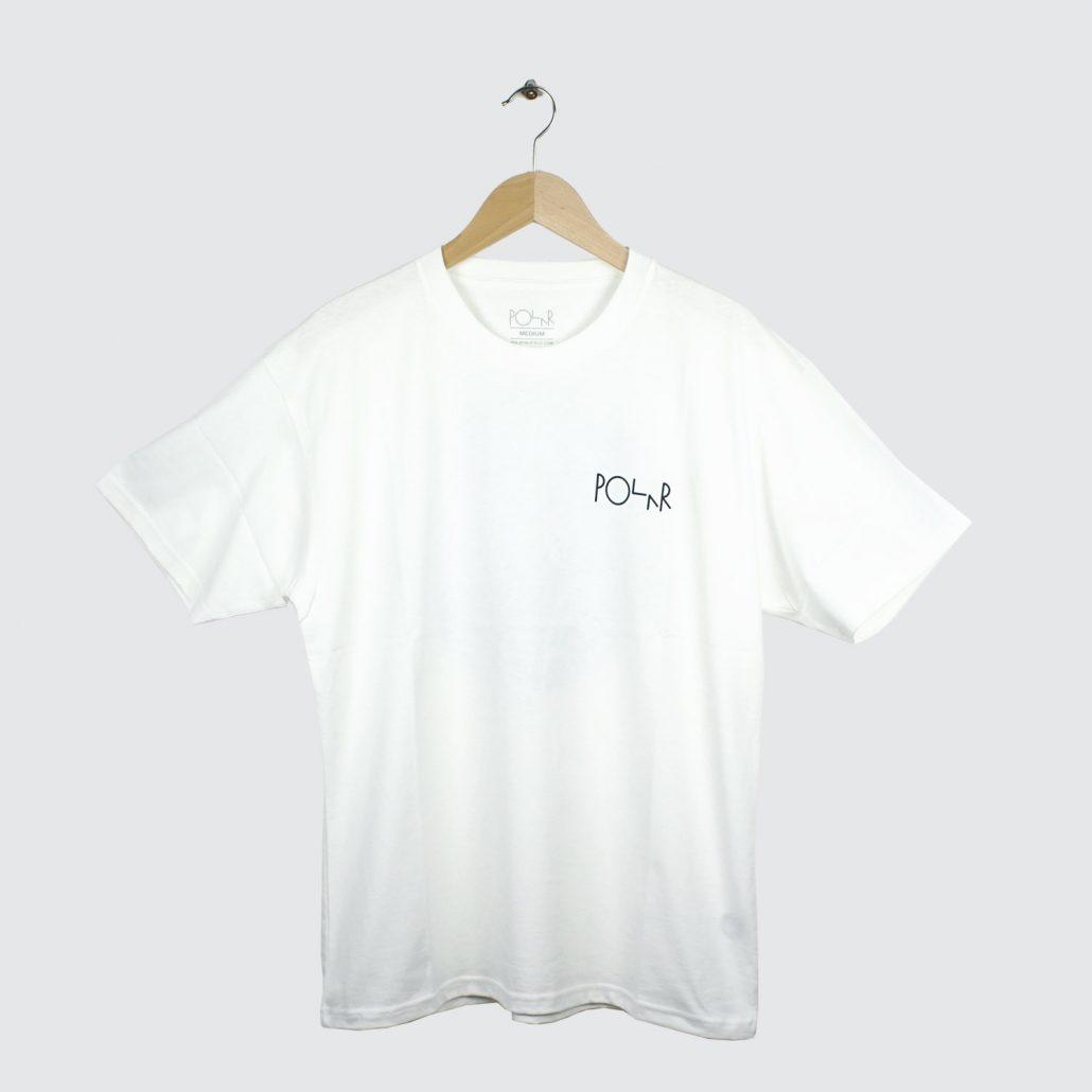 Polar-Skate-Co-Fill-Logo-Tee-White-Yellow