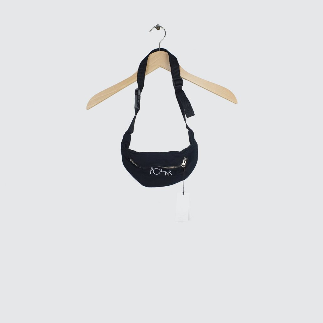 Polar-Skate-Co-Script-Logo-Hip-Bag-Black