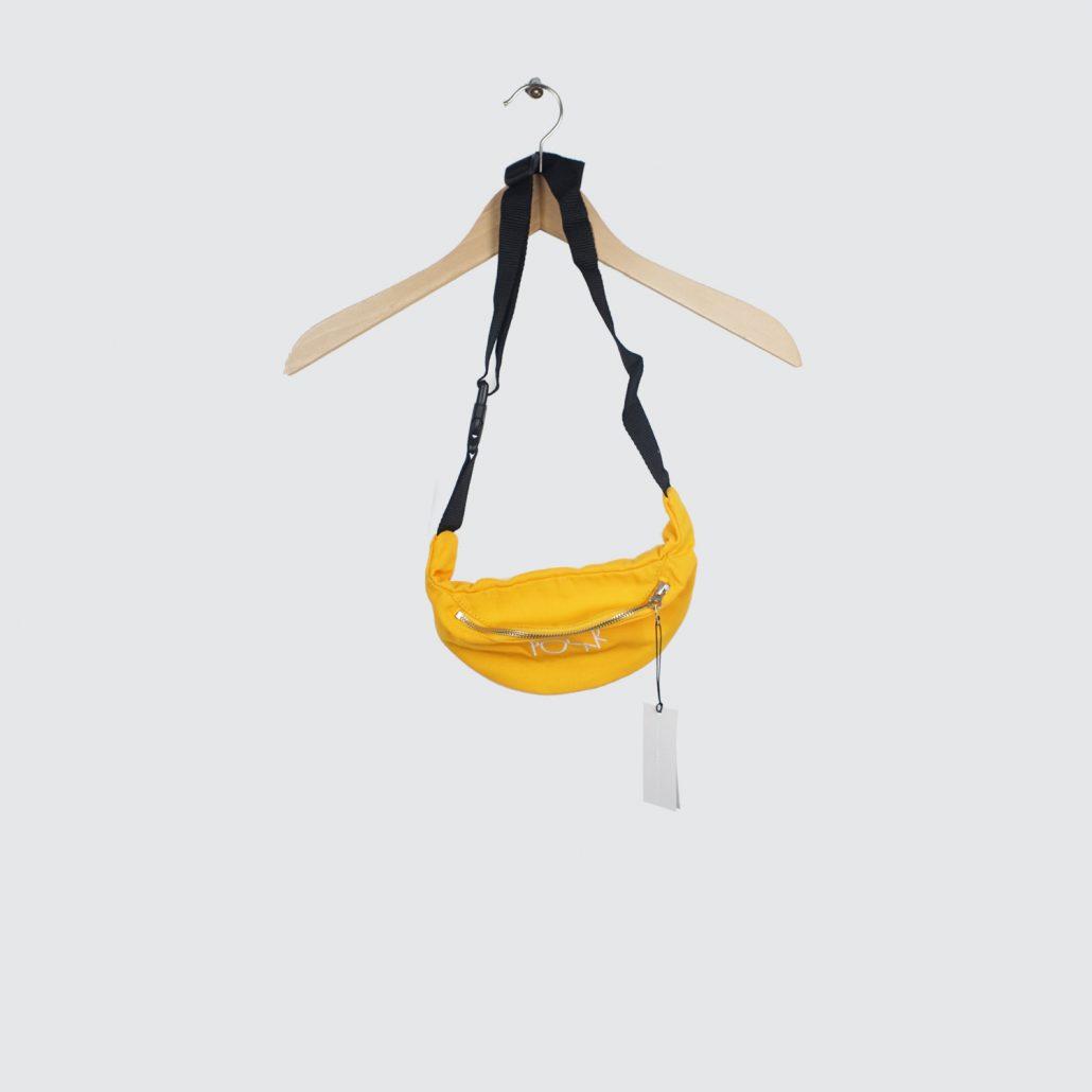 Polar-Skate-Co-Script-Logo-Hip-Bag-Yellow