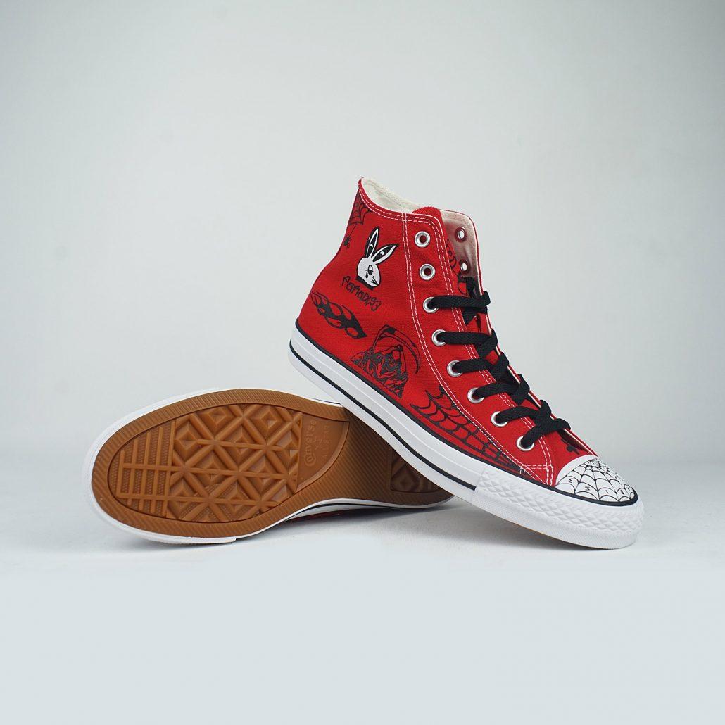 Converse-Paradise-Sean-Pablo-CTAS-Pro-Hi-Enamel-Red-Black