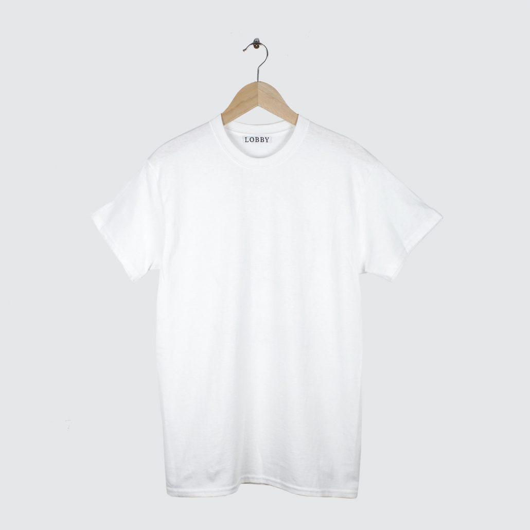 Lobby-Classic-Logo-Tee-White
