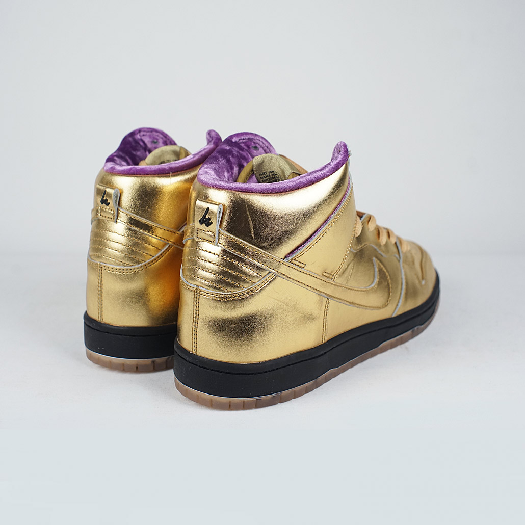 d9d2759eb2e Nike SB Dunk High QS Metallic Gold  Metallic Gold – LOBBY