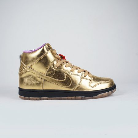 Nike SB Dunk High QS Metallic Gold  Metallic Gold b539bdbdd