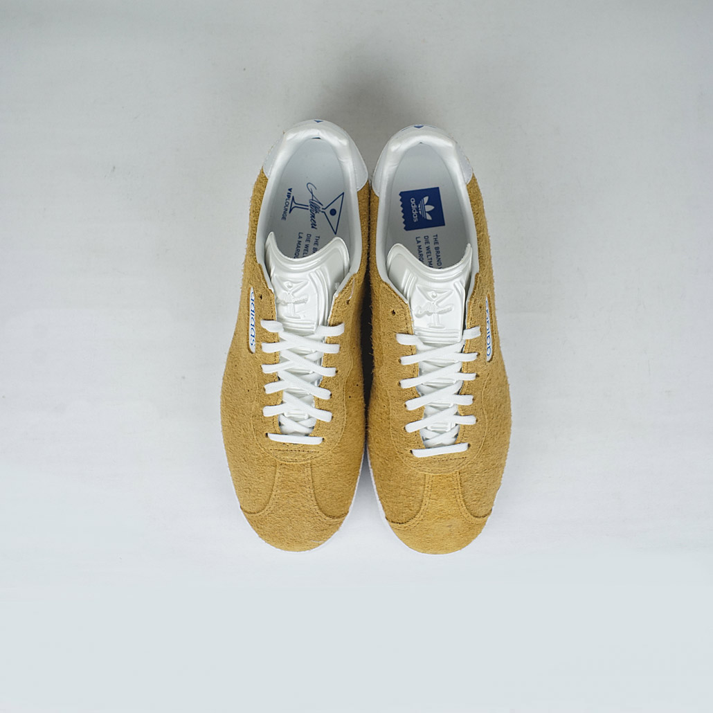 reputable site 00eb8 b5400 Adidas X Alltimers Gazelle Super Shoe Mesa White Blue – LOBBY