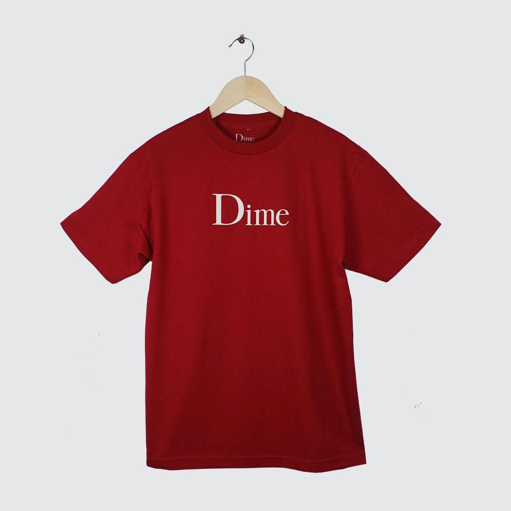 Dime-Classic-Logo-TShirt-Cardinal