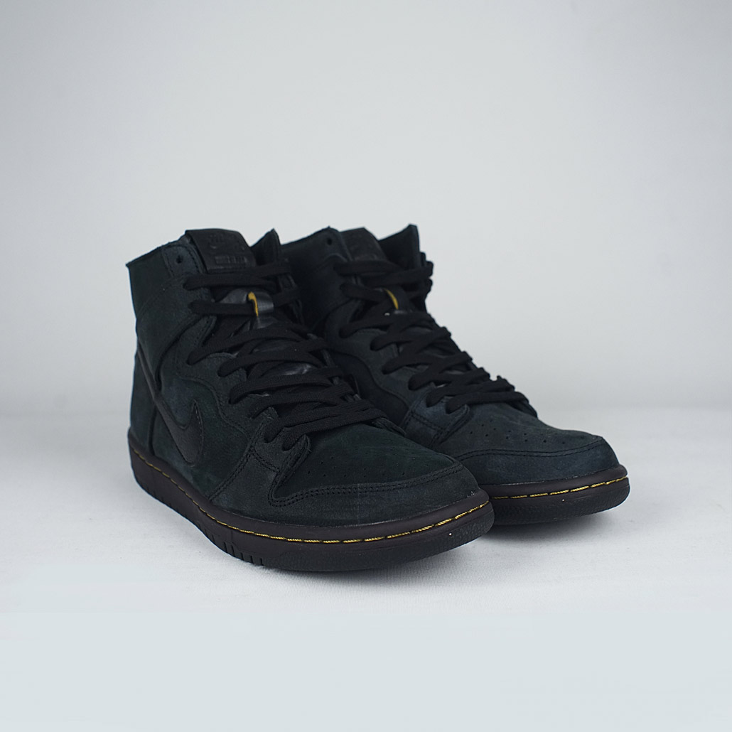 Nike SB Zoom Dunk High PRO Decon PRM Black Black-Velvet Brown – LOBBY 94e370ef0