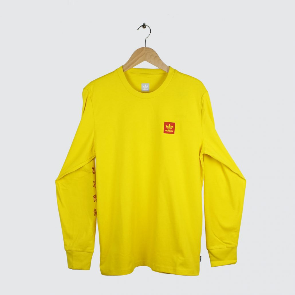 Adidas-Skateboardings-Evisen-Skateboards-Evitee-Longsleeve-Yellow