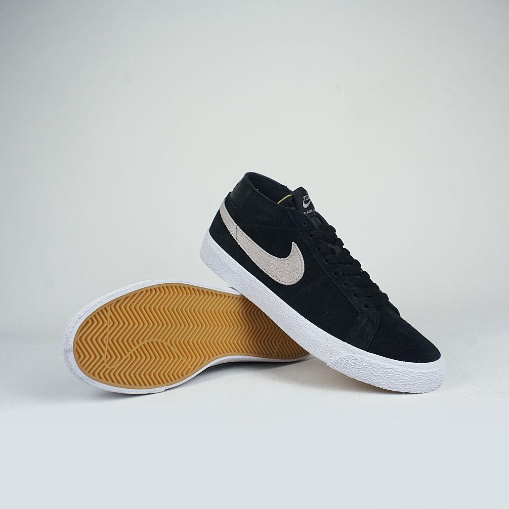 innovative design b0674 8b5ee Nike SB Zoom Blazer Chukka Black/Atmosphere Grey Noir