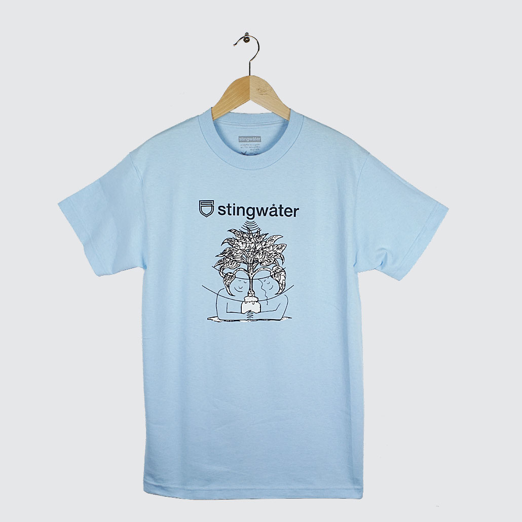 Stingwater-Something-Speshal-Groe-Vibes-T-Shirt-Light-Blue