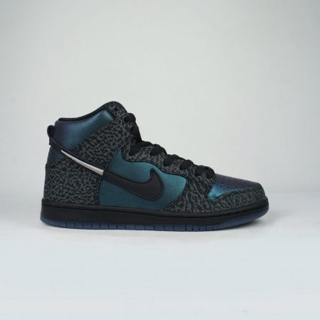 Nike SB X Black Sheep Dunk High Pro QS Shoe (NBA Black Hornets)  Black Black Dark Grey b61666d264
