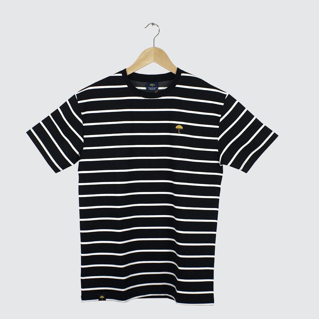 Helas-Caps-Classic-Striped-Tee-Black