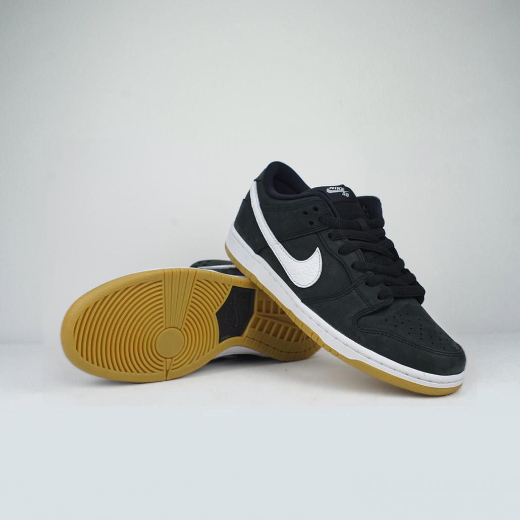 official photos 9d9cb a5a51 Nike SB Dunk Low PRO ISO Black White-Black (Orange Label) – LOBBY