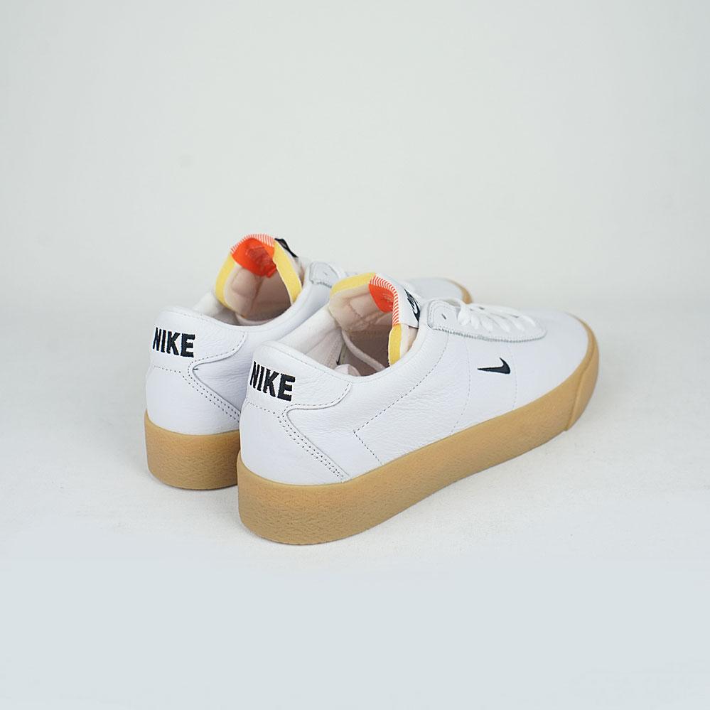 huge discount 8daba 3ced4 Nikes SB Zoom Bruin ISO White Black-Safety Orange – LOBBY
