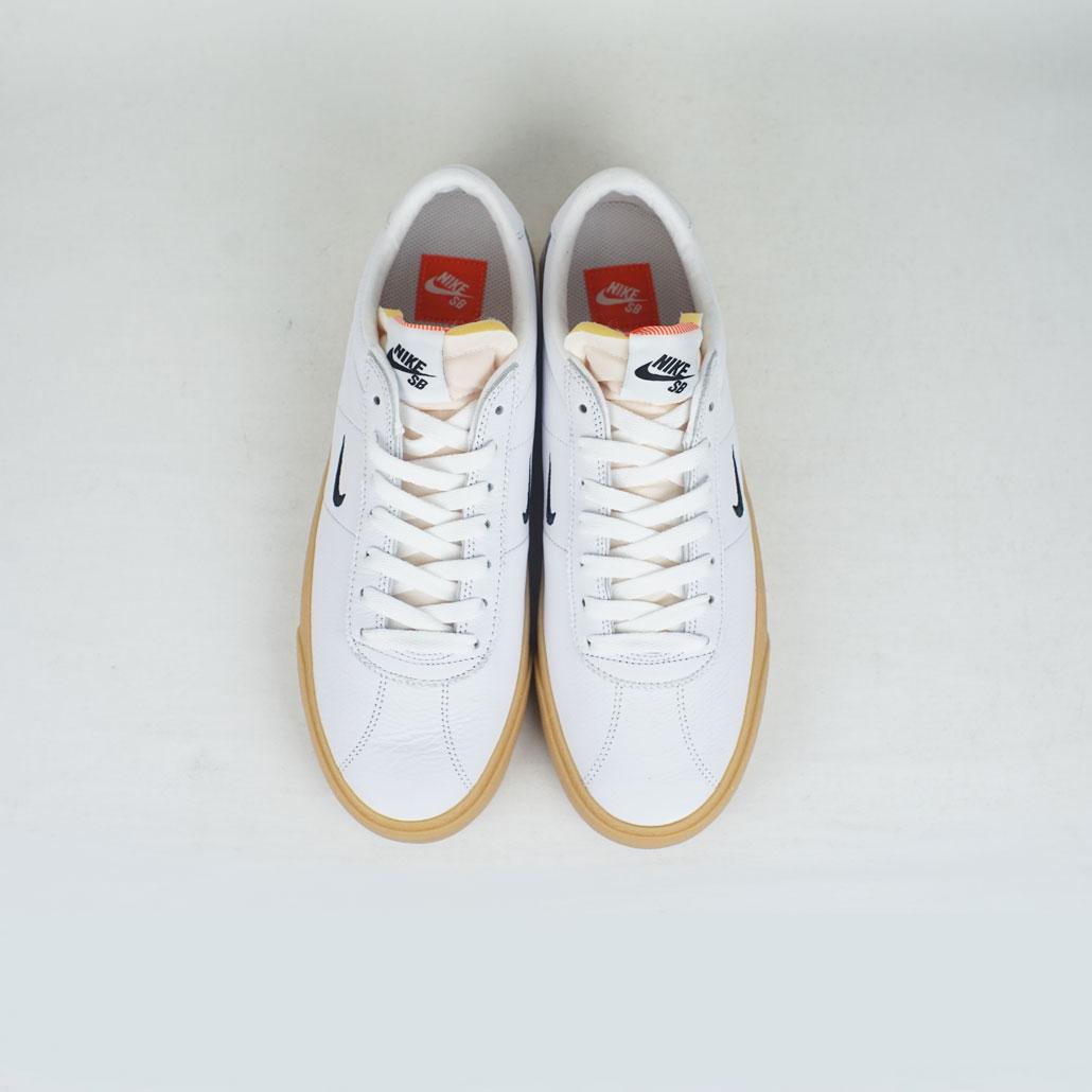 huge discount 17a4d 42e29 Nikes SB Zoom Bruin ISO White Black-Safety Orange – LOBBY