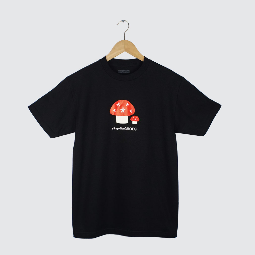 Stingwater-Groes-T-Shirt-Black