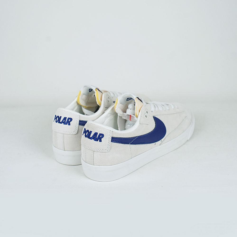 hot sale online f30e7 028c2 Nike SB x Polar Zoom Blazer Low GT QS Summit White/Deep Royal Blue